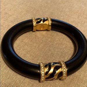 Avon Elizabeth Taylor Zebra Bangle Bracelet